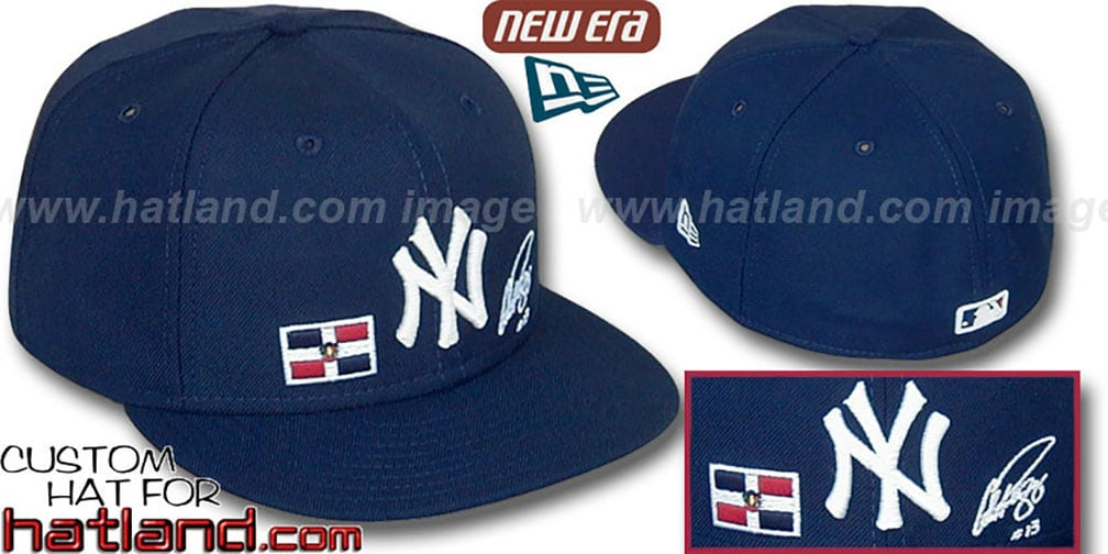 A-Rod 'TRIPLE THREAT' Navy Fitted Hat by New Era