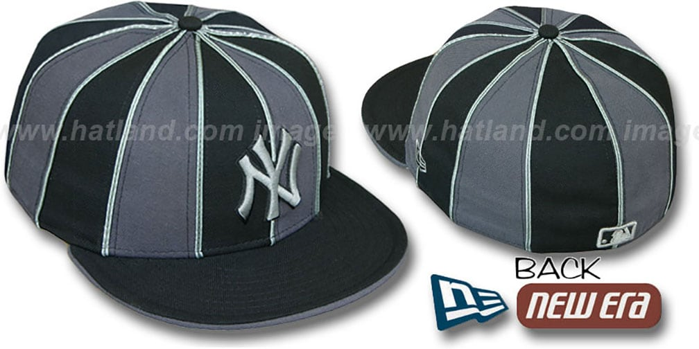Yankees '12-PACK' Black-Grey Fitted Hat by New Era