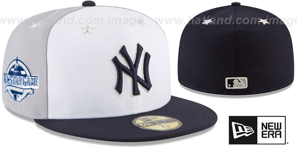 best sneakers 486ef 45c8a Yankees  2018 MLB ALL-STAR GAME  Fitted Hat by New Era