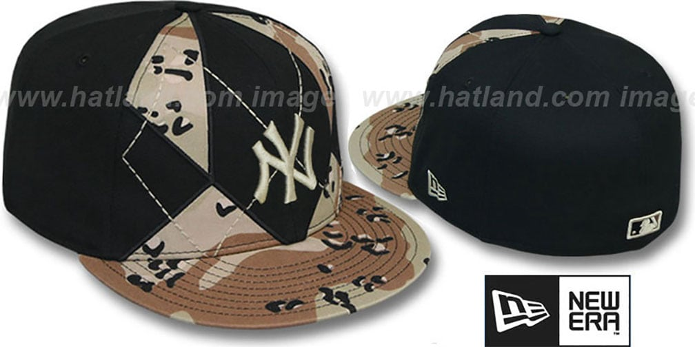 Yankees 'DESERT STORM CAMO BRADY' Fitted Hat by New Era