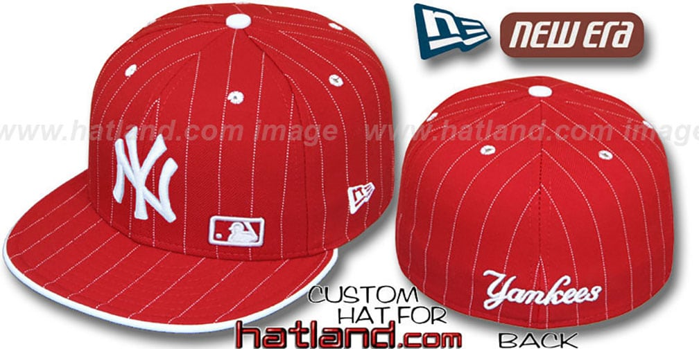 Yankees 'FABULOUS' Red-White Fitted Hat by New Era