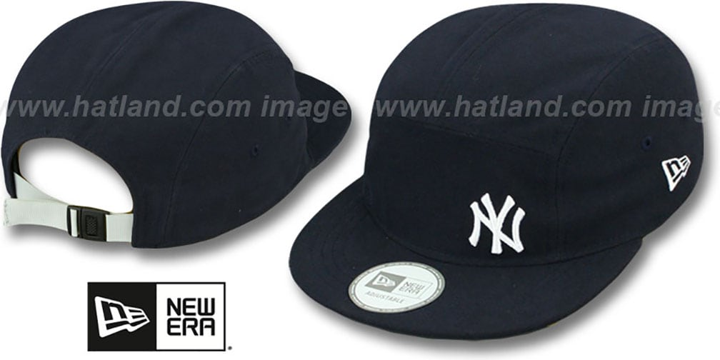 Yankees 'FLAWLESS CAMPER STRAPBACK' Navy Hat by New Era