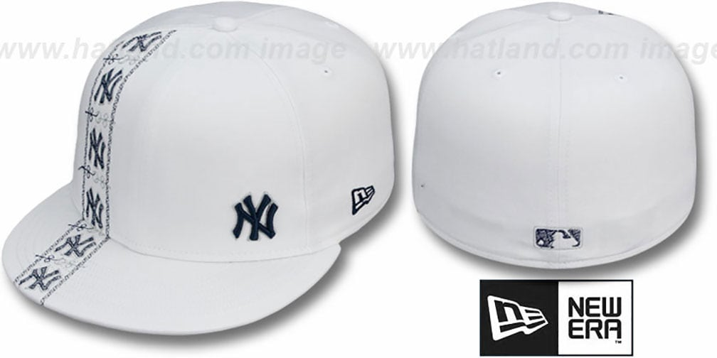 Yankees 'FLAWLESS CUBANO' White-Team Color Fitted Hat by New Era
