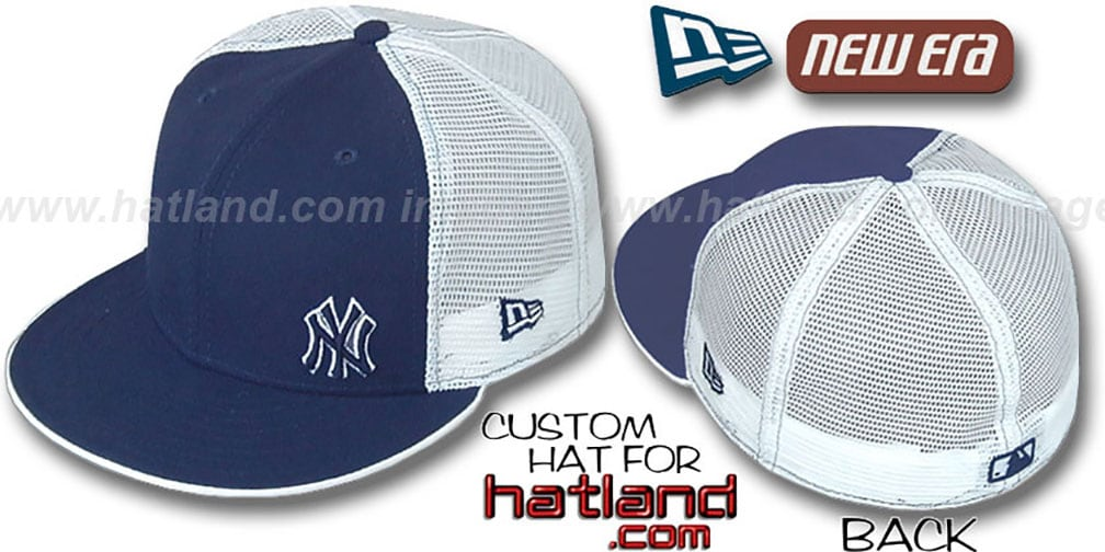 Yankees 'FLAWLESS MESH-BACK' Navy-White Hat by New Era