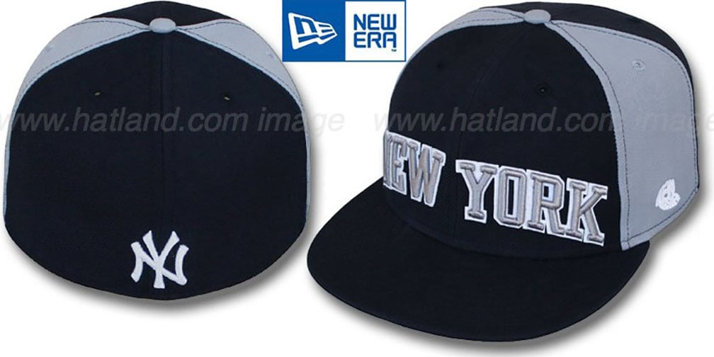 Yankees 'JMACK ARCH' Navy-Grey Fitted Hat by New Era