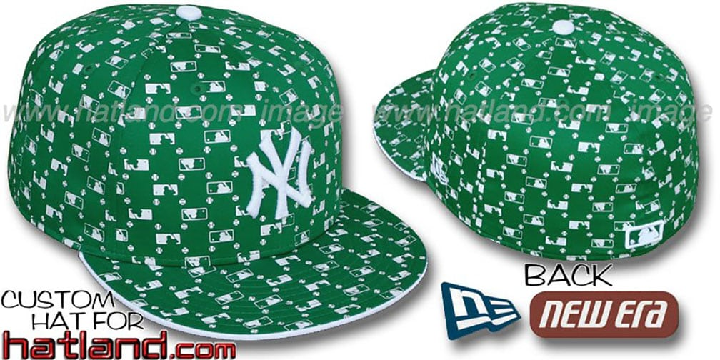 Yankees 'MLB FLOCKING' Kelly Fitted Hat by New Era
