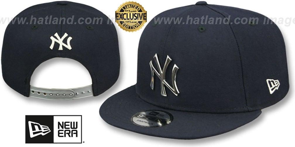 59abe4040dd6b YankeesHats.com - New York Yankees Hats - Yankees  SILVER METAL ...