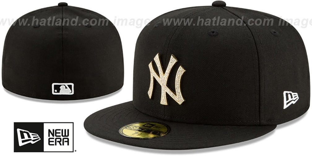 Yankees 'TEAM-GEM' Black Fitted Hat by New Era