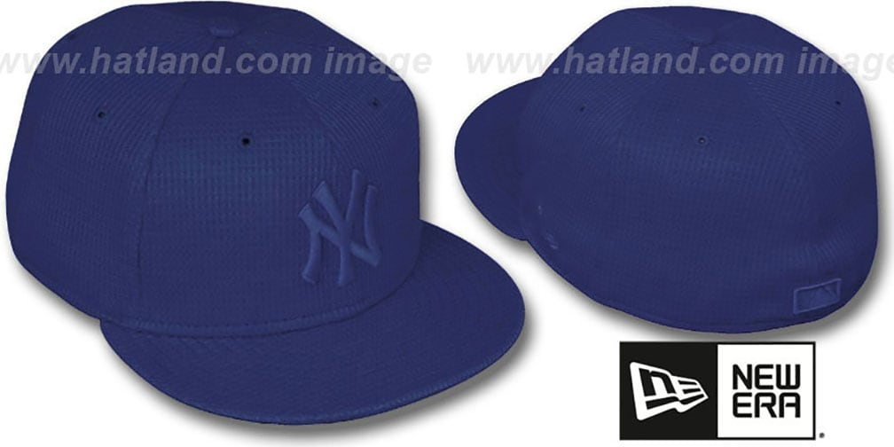 Yankees 'THERMAL NAVYOUT' Fitted Hat by New Era