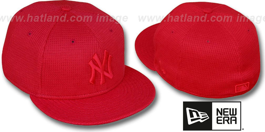 Yankees 'THERMAL REDOUT' Fitted Hat by New Era
