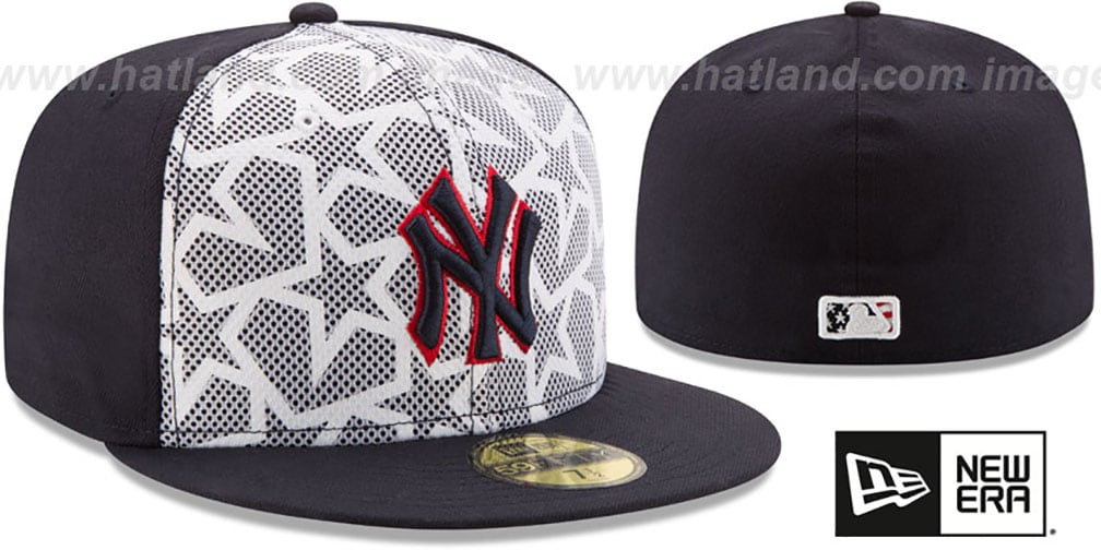 Yankees '2016 JULY 4TH STARS N STRIPES' Fitted Hat by New Era