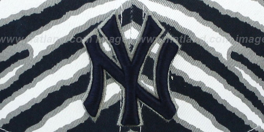Yankees 'ALL-OVER ZUBAZ' Fitted Hat by New Era