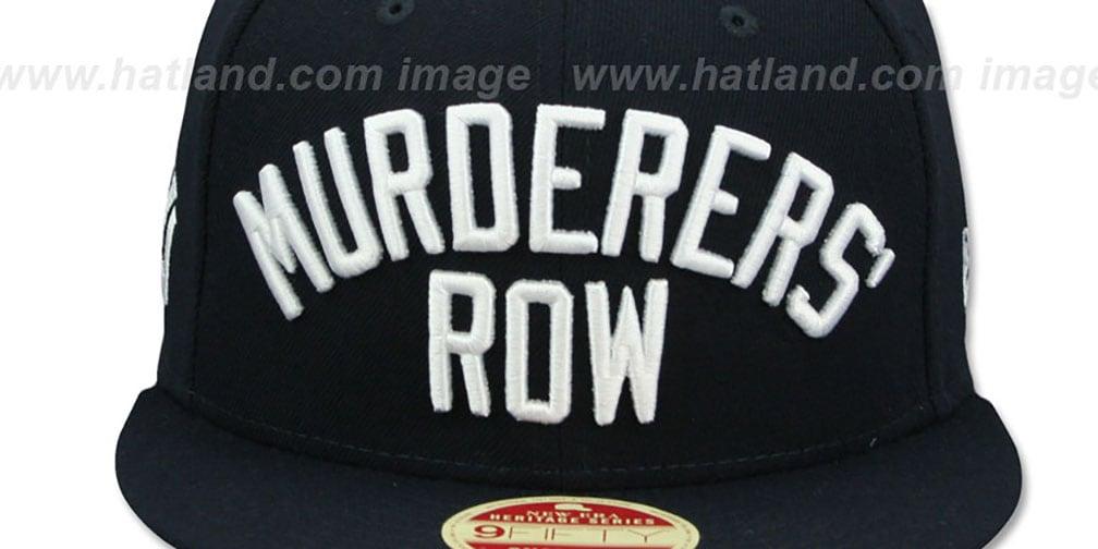 87a6da690643a YankeesHats.com - New York Yankees Hats - Yankees  MURDERERS ROW ...