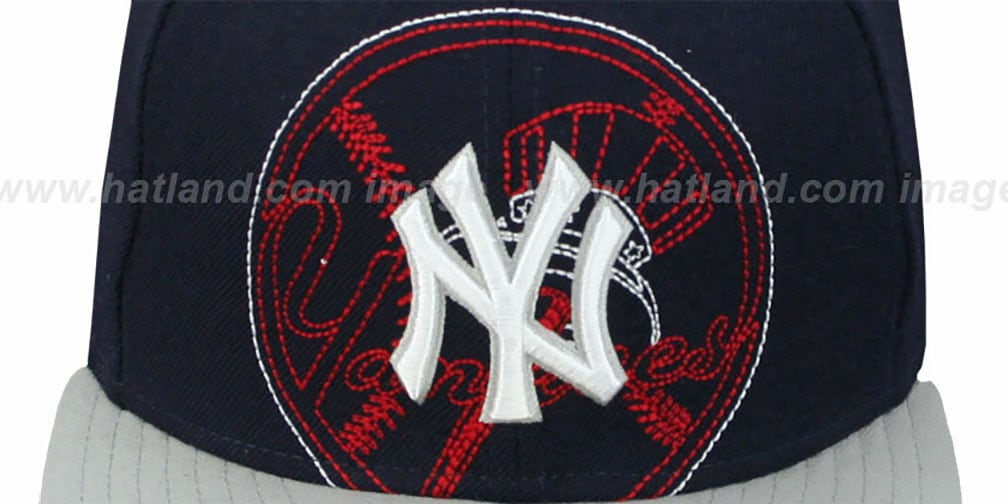 Yankees 'NEW MIXIN' Navy-Grey Fitted Hat by New Era