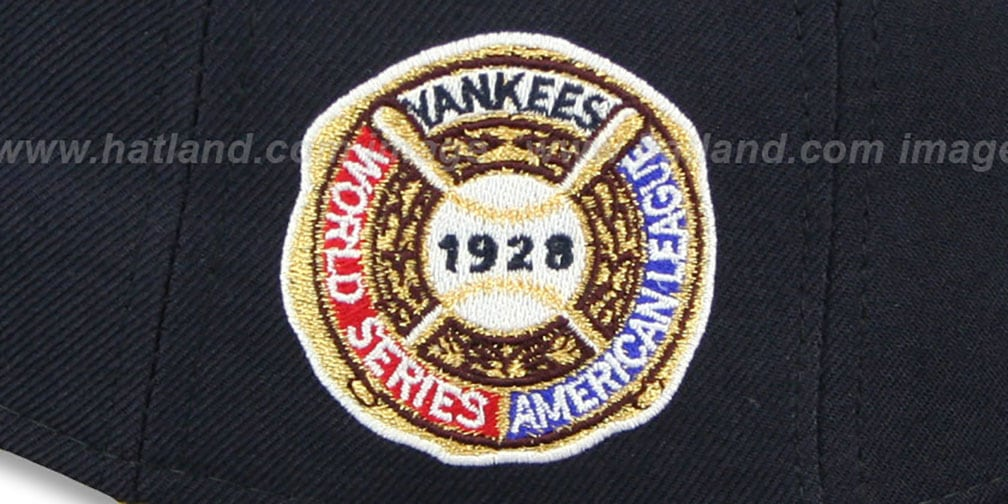 61ecd4325eb YankeesHats.com - New York Yankees Hats - Yankees 1928  WORLD SERIES ...