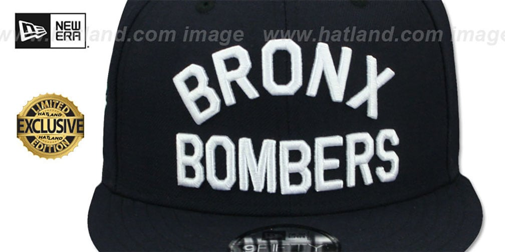 Yankees 'BRONX BOMBERS' SNAPBACK Navy Hat by New Era