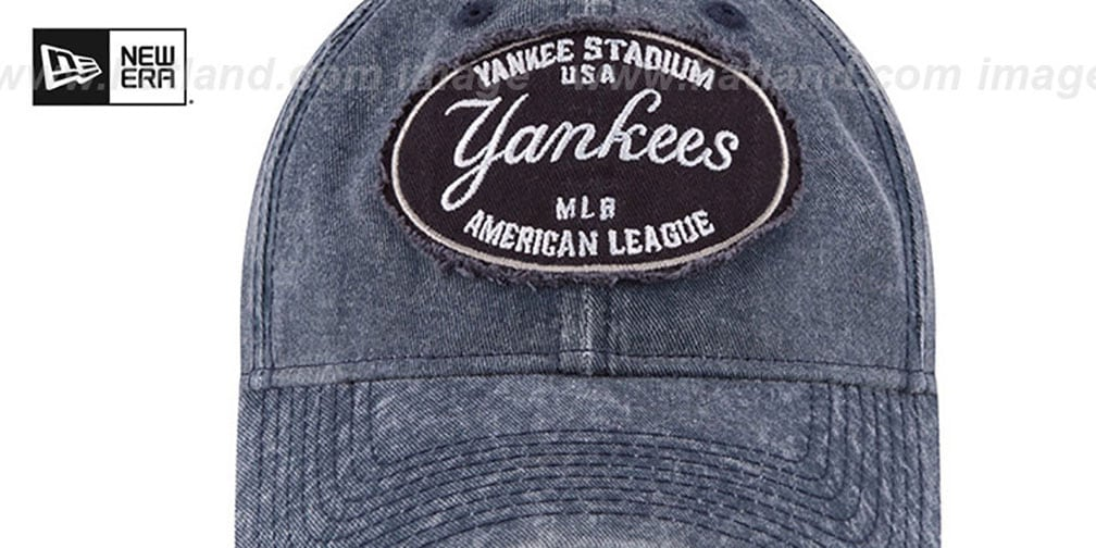 Yankees 'GW STADIUM PATCH STRAPBACK' Navy Hat by New Era
