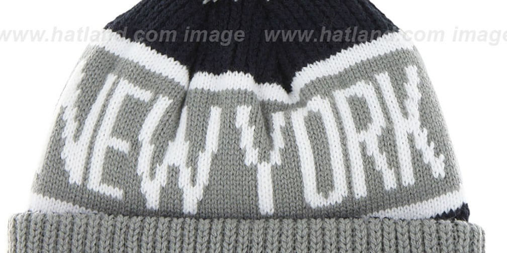 831adc61bf0 YankeesHats.com - New York Yankees Hats - Yankees  THE-CALGARY  Grey ...