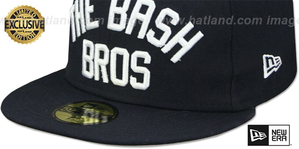 Yankees 'BASH BROS' Navy Fitted Hat by New Era