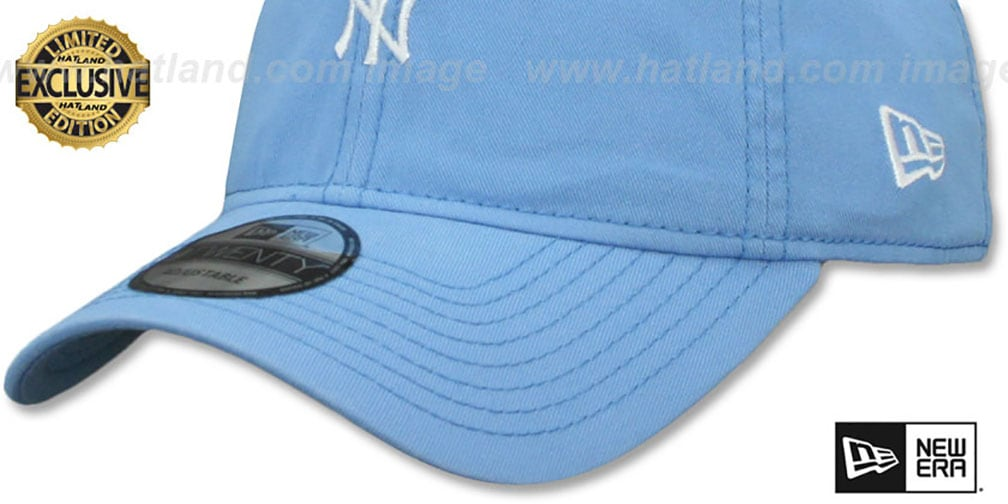 2c5f77b27c4ab ... get yankees mini beachin strapback light blue hat by new era 19bf1 6655e