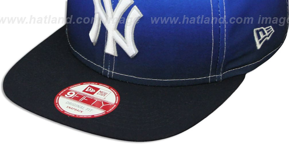 Yankees 'SUBLENDER SNAPBACK' Navy-White Hat by New Era