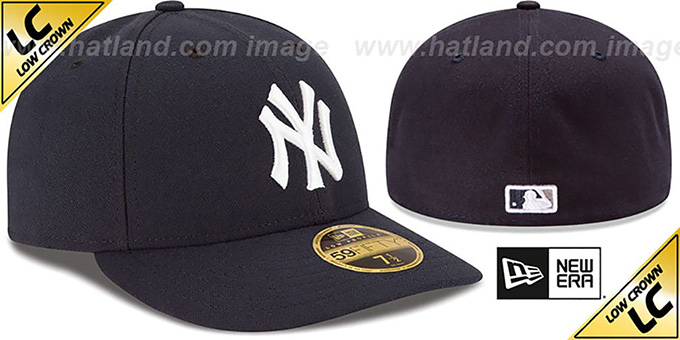 0844591a017 YankeesHats.com - New York Yankees Hats - Yankees  2017 LOW-CROWN ONFIELD  GAME  Fitted Hat by New Era