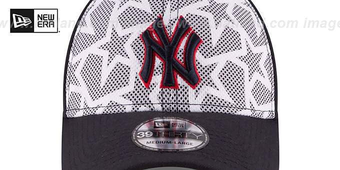 6afe349bbbf YankeesHats.com - New York Yankees Hats - Yankees  2016 JULY 4TH STARS N  STRIPES FLEX  Hat by New Era