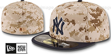 Yankees '2014 STARS N STRIPES' Fitted Hat by New Era