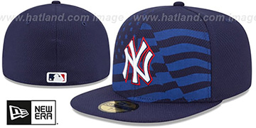 Yankees '2015 JULY 4TH STARS N STRIPES' Hat by New Era
