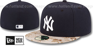 Yankees '2015 STARS N STRIPES' Fitted Hat by New Era