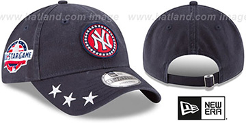 Yankees '2018 MLB ALL-STAR WORKOUT STRAPBACK' Hat by New Era