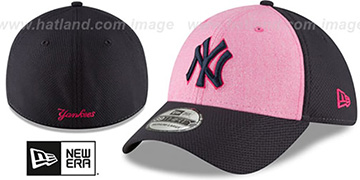 Yankees '2018 MOTHERS DAY FLEX' Pink-Navy Hat by New Era