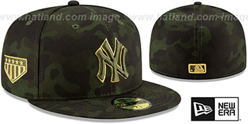 Yankees 2019 ARMED FORCES 'STARS N STRIPES' Hat by New Era