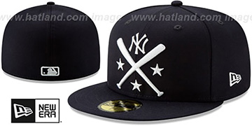 Yankees '2019 MLB ALL-STAR ALTERNATE WORKOUT' Navy Fitted Hat by New Era
