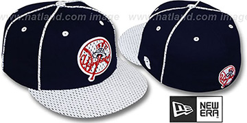 Yankees '2T TEAM-JERSEY' Navy-White Fitted Hat by New Era