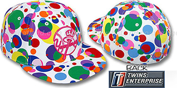 Yankees ALT 'GUMBALL' White-Multi Fitted Hat by Twins