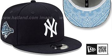 Yankees 'BANDANA SKY BOTTOM SNAPBACK' Navy Hat by New Era