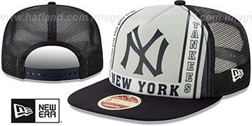 Yankees 'BANNER FOAM TRUCKER SNAPBACK' Hat by New Era