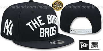 Yankees 'BASH BROS SNAPBACK' Navy Hat by New Era
