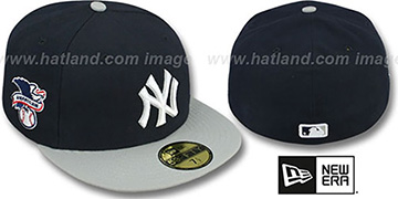 Yankees 'BAYCIK' Navy-Grey Fitted Hat by New Era