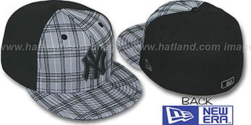 Yankees 'CHAINSAW' Grey-Black Fitted Hat by New Era