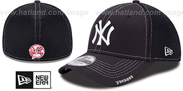 Yankees 'CONTRAST NEO MESH' Navy Flex Hat by New Era