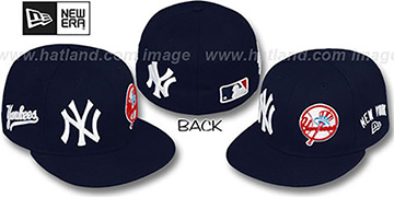Yankees 'EVOLUTION' Fitted Hat by New Era - navy
