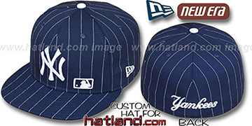 Yankees 'FABULOUS' Navy-White Fitted Hat by New Era