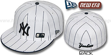 Yankees 'FABULOUS' White-Navy Fitted Hat by New Era