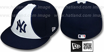 Yankees 'FLO' Navy Fitted Hat by New Era