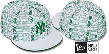 Yankees 'GOOD TIMES ALL-OVER' White-Kelly Fitted Hat by New Era
