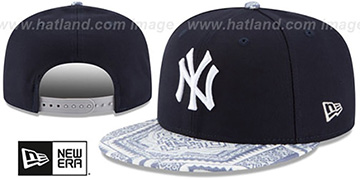 Yankees 'KALEIDOVIZE SNAPBACK' Navy Hat by New Era