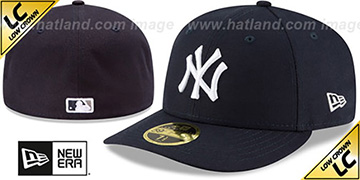 Yankees '2017 LOW-CROWN ONFIELD GAME' Fitted Hat by New Era