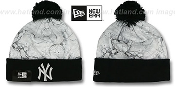 Yankees 'MARBLE' Knit Beanie Hat by New Era